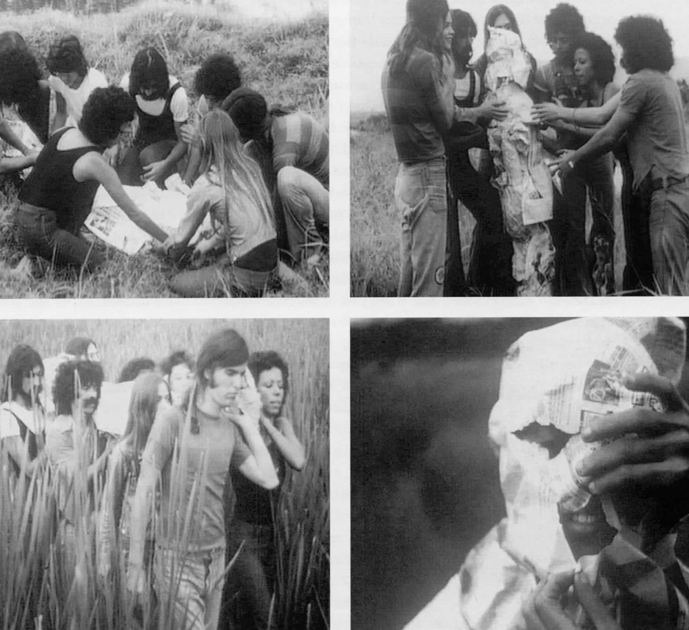 Lygia Clark, Viagem, still from 16mm film, digitally transferred, 1973