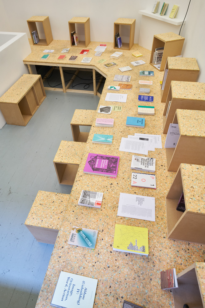 Spatial Practices and the Urban Commons, reading room. Photo by Original&theCopy.