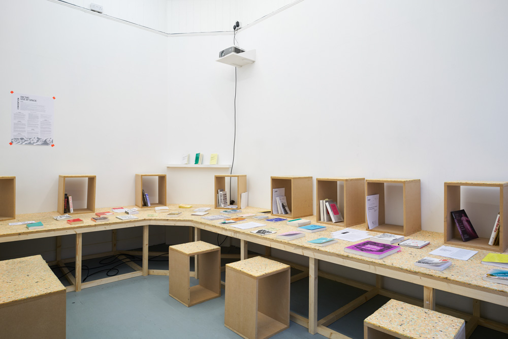Spatial Practices and the Urban Commons, reading room.