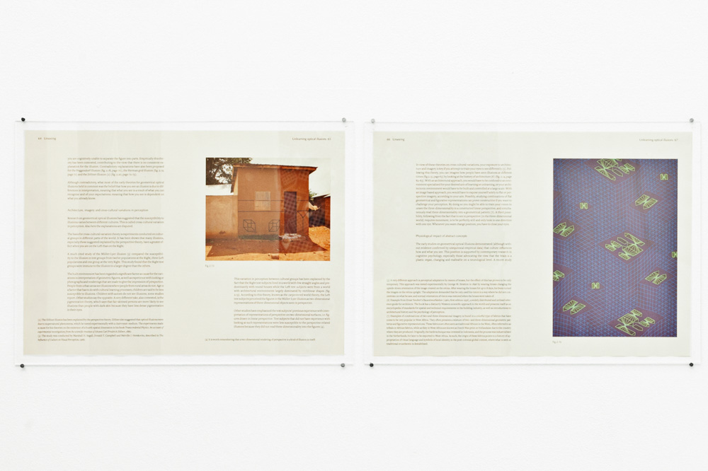 Toril Johannesen, Spreads from the book Unseeing, 2014