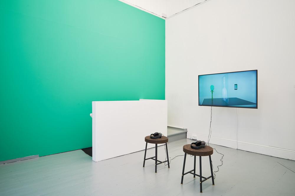 David Ferrando Giraut, CATOPTROPHILIA, installation view. Borbala Soos