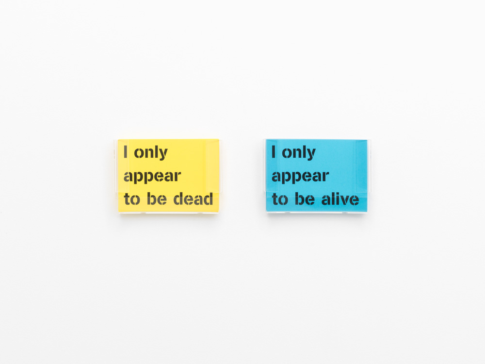 I only appear to be alive / I only appear to be dead, 2009.