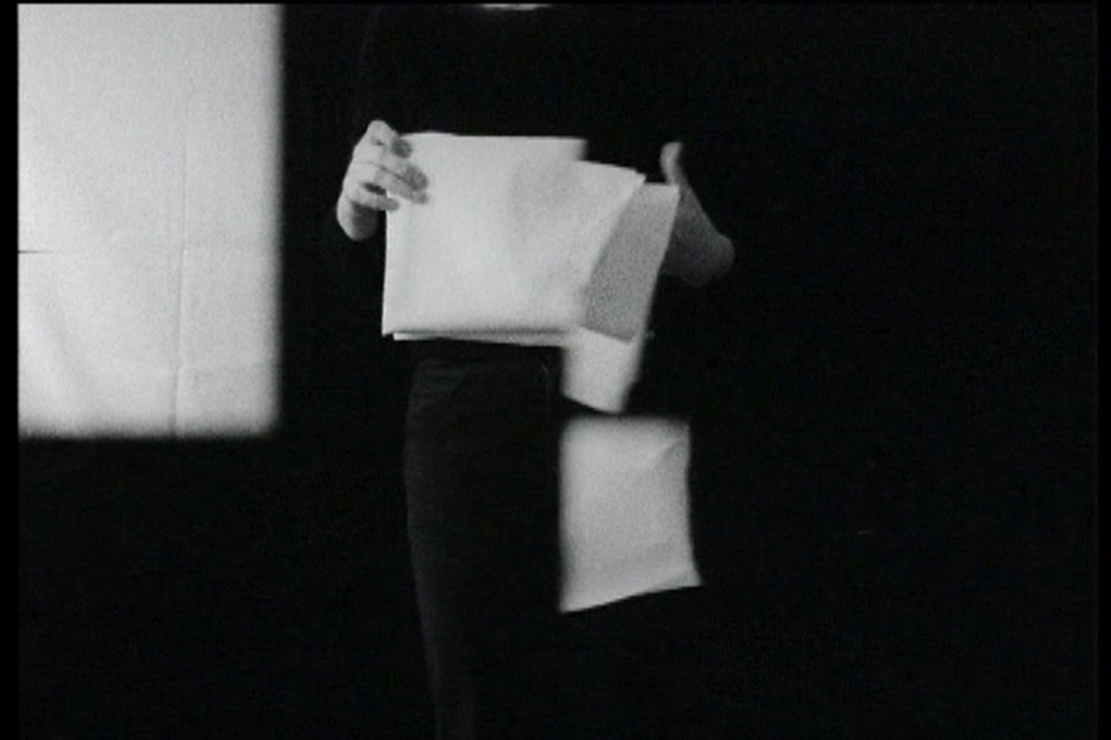 Dóra Maurer. Timing, 1973-80, film still