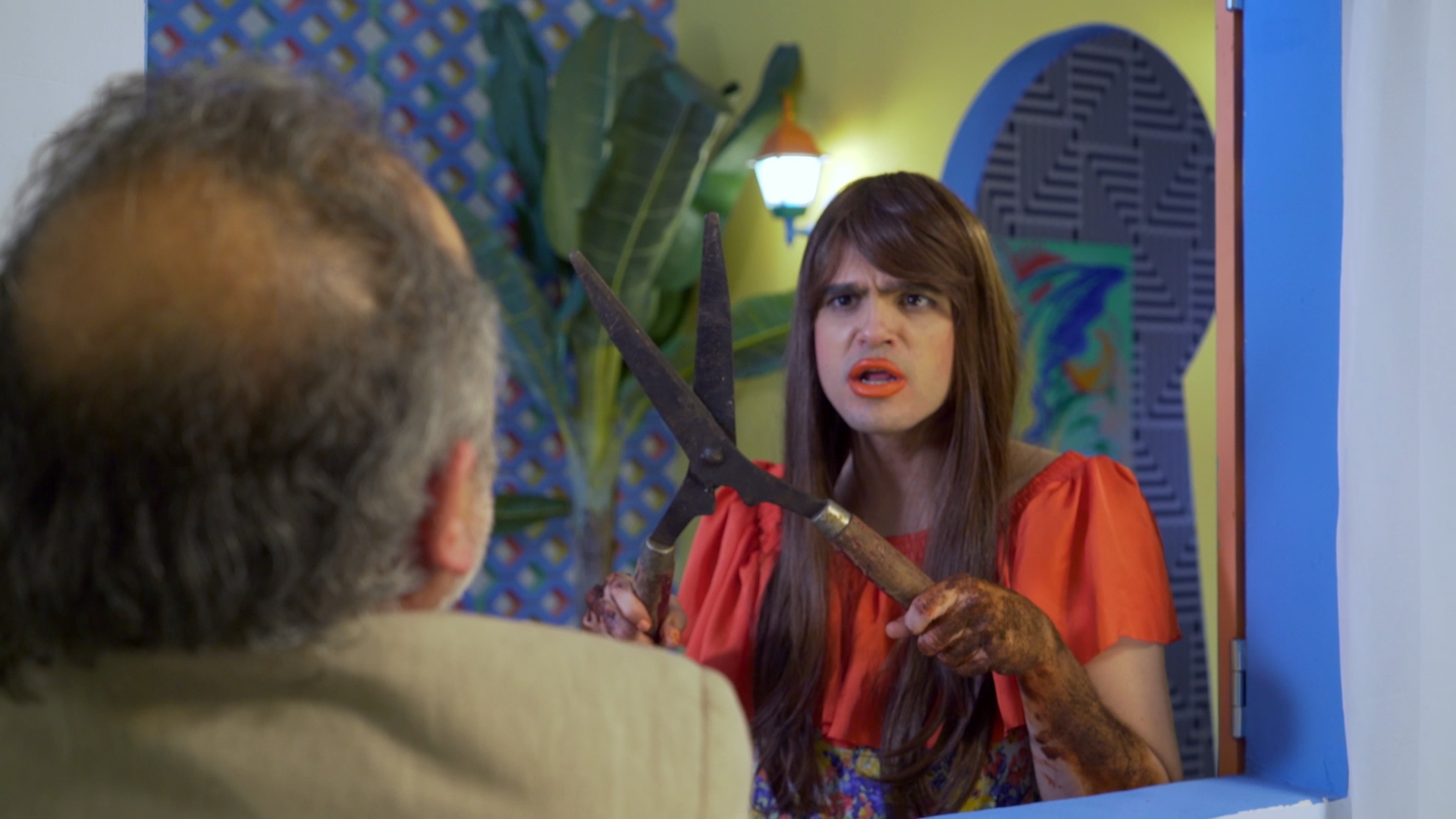 CONGLOMERATE, still form Desde el Jardin directed by Sol Calero and Dafna Maimon.